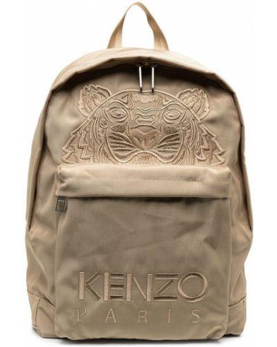 Beżowy plecak Kenzo