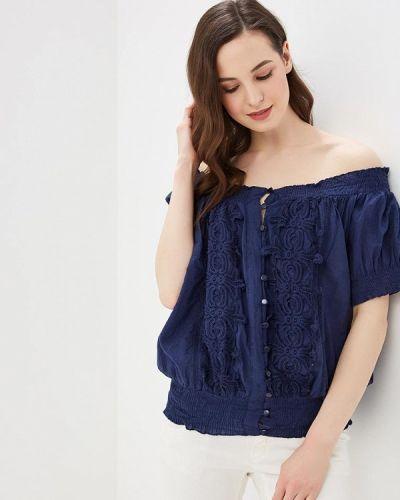 Блузка синяя Fresh Cotton