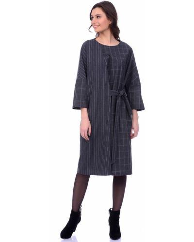 Платье с поясом оверсайз платье-сарафан Lautus