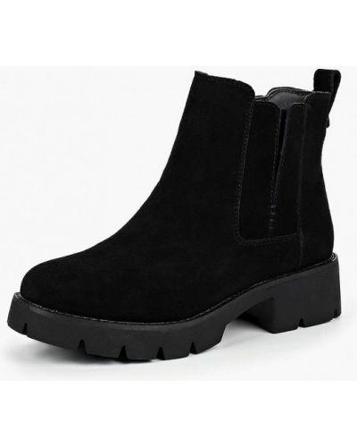 Ботинки на каблуке осенние замшевые Alessio Nesca