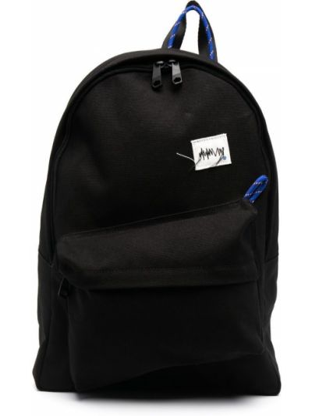 Czarny plecak z nylonu Ader Error