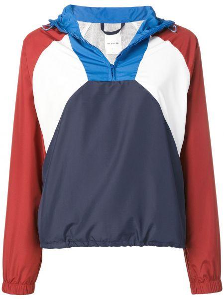 Синяя короткая куртка Wood Wood