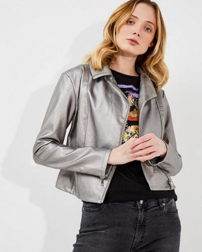 Куртка серебряного цвета Liu Jo Jeans