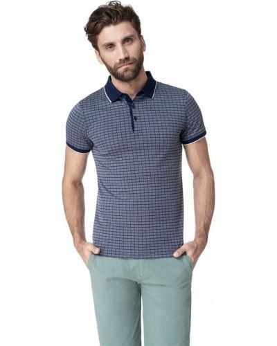 Джинсовая рубашка в клетку с короткими рукавами Hayas