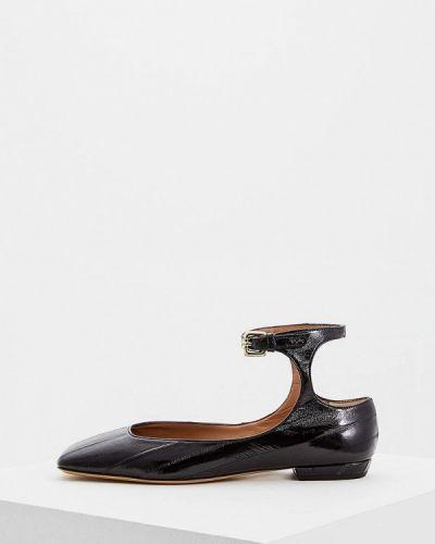 Кожаные туфли осенние для офиса Emporio Armani