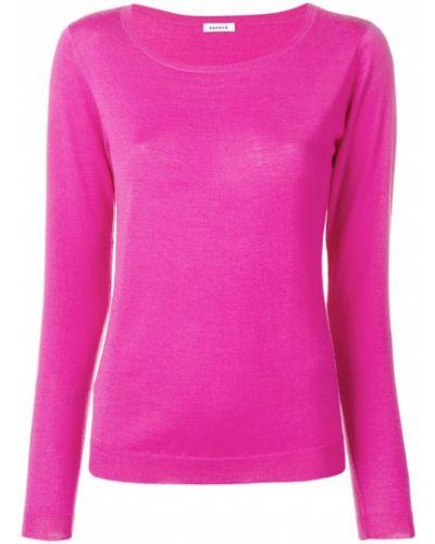 Пуловер кашемировый розовый P.a.r.o.s.h.
