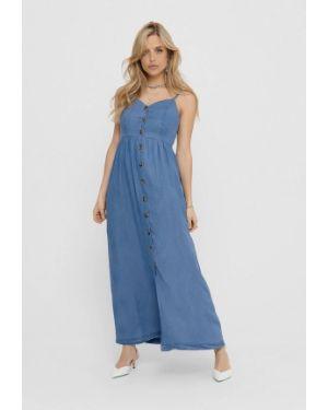Синее платье Only