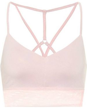 Różowy biustonosz sportowy Alo Yoga