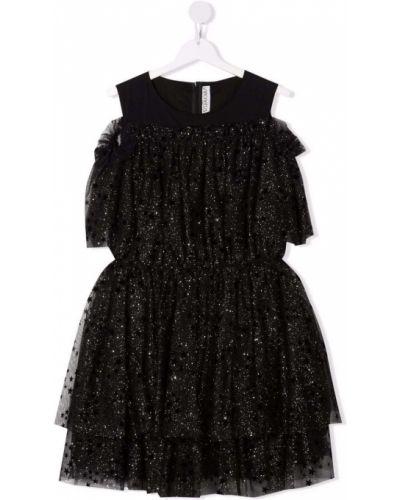 Czarna sukienka bawełniana Simonetta
