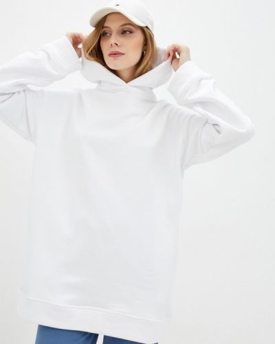 Белая худи летняя Imocean