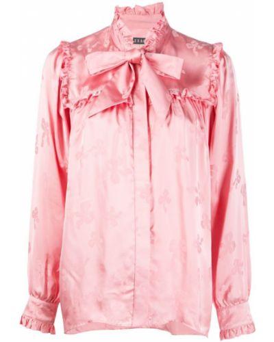 Рубашка с длинным рукавом с принтом на пуговицах Alexa Chung