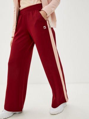 Спортивные брюки - бордовые Fila