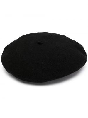 Biała czapka wełniana Emporio Armani