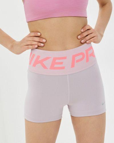 Розовые спортивные шорты Nike