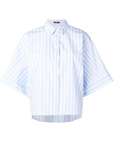 Классическая рубашка в полоску на пуговицах Jil Sander Navy