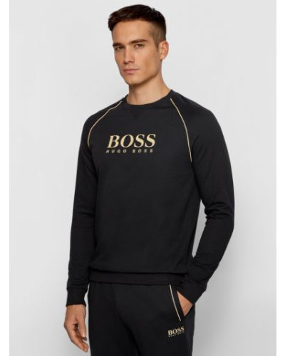 Czarny dres Boss