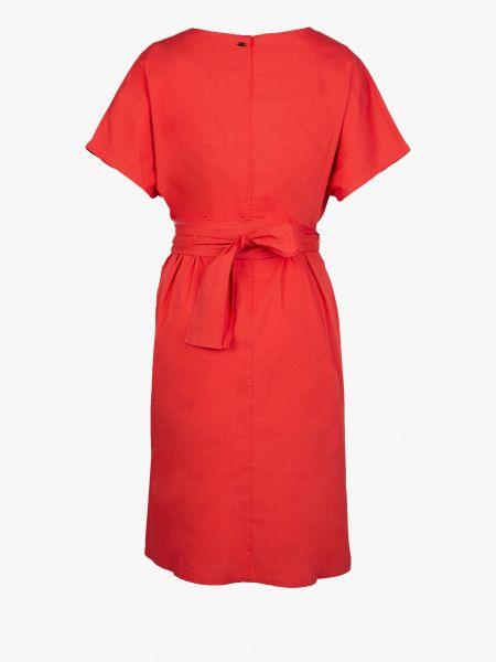 Платье рубашка - красное Mexx