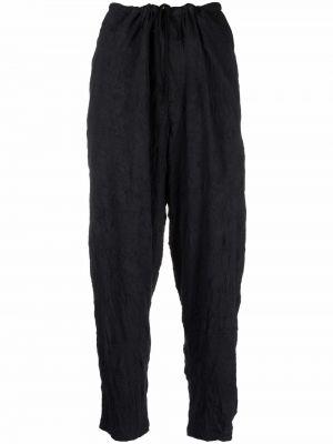Czarne spodnie bawełniane Ys