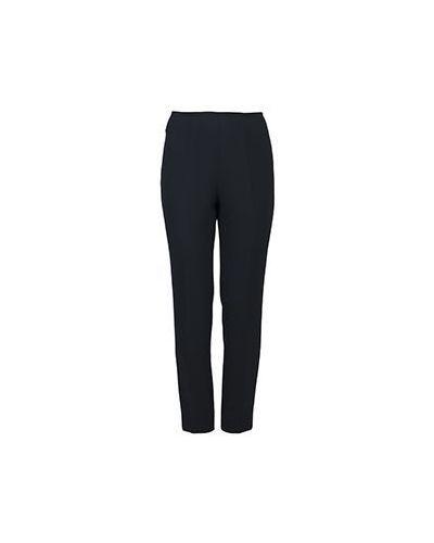 Черные брюки из полиэстера Luisa Spagnoli