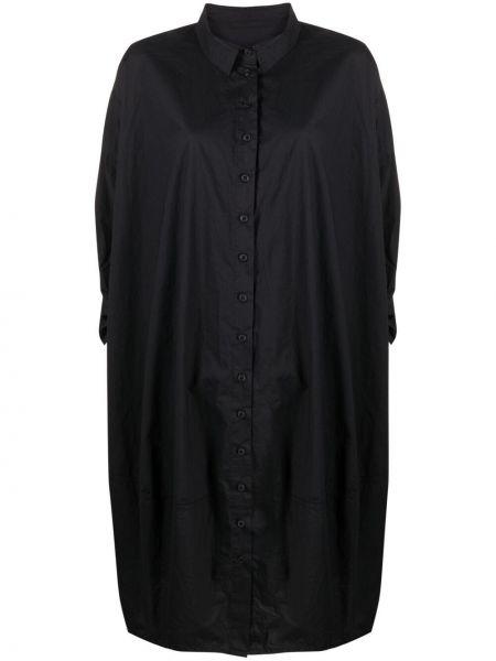 Платье макси длинное - черное Rundholz