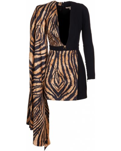 Czarna sukienka Roberto Cavalli