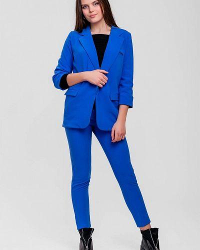 Брючный костюм синий Sfn