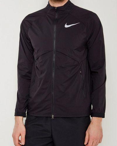 Черная ветровка Nike