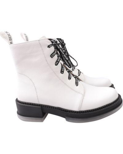Кожаные ботинки - белые Erisses