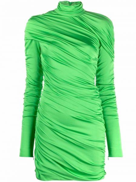 Платье макси длинное - зеленое Stella Mccartney