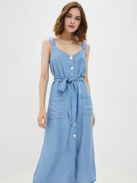 Джинсовое платье весеннее Zarina