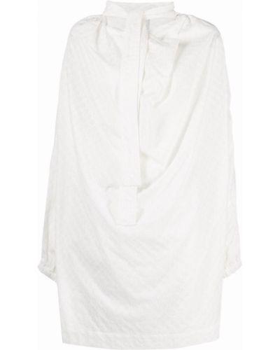 Платье макси с длинными рукавами - белое Vivienne Westwood