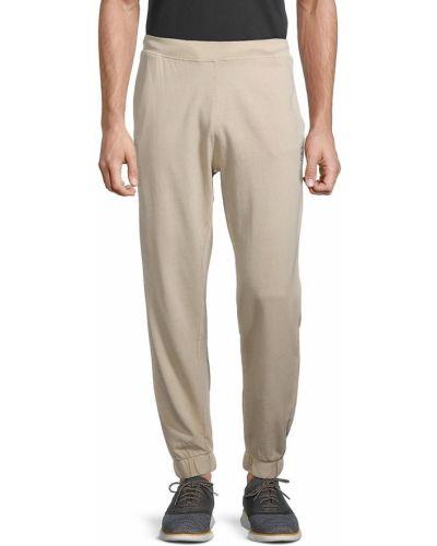 Spodnie prążkowane khaki Onia