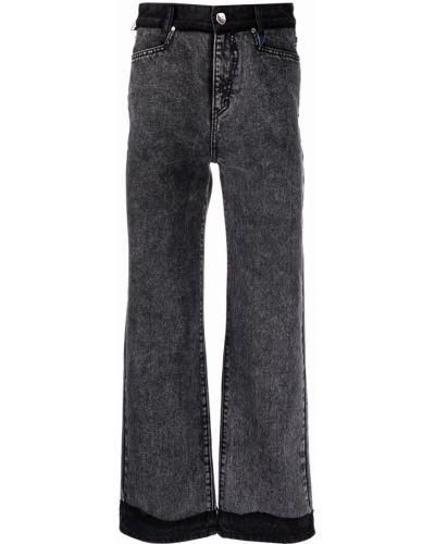Klasyczne mom jeans - czarne Ader Error