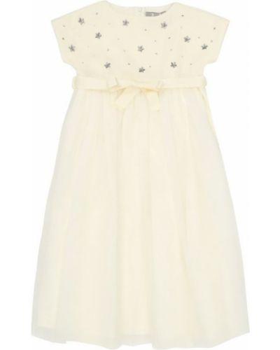Платье с поясом платье-комбинация расклешенное Il Gufo
