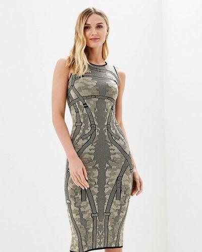 Платье весеннее бежевое Brusnika