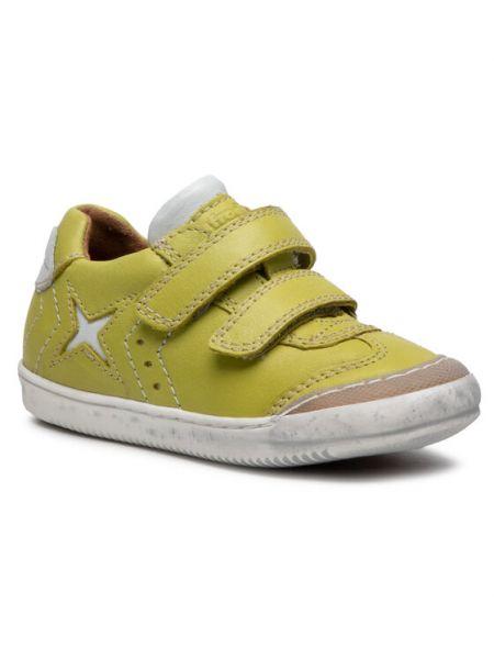 Zielone sneakersy Froddo