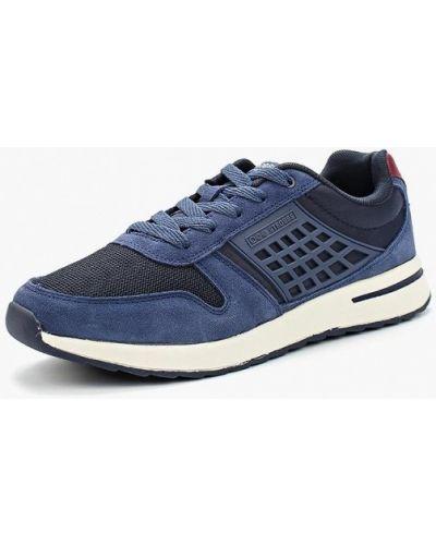 Синие кроссовки замшевые Strobbs