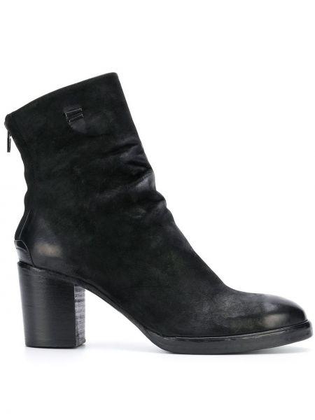 Черные ботинки на каблуке на молнии The Last Conspiracy