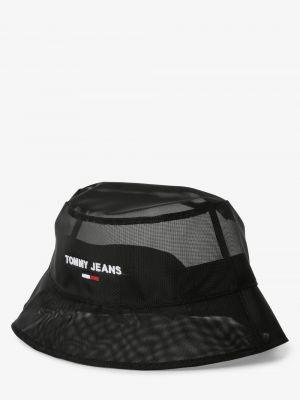 Czarny kapelusz Tommy Jeans