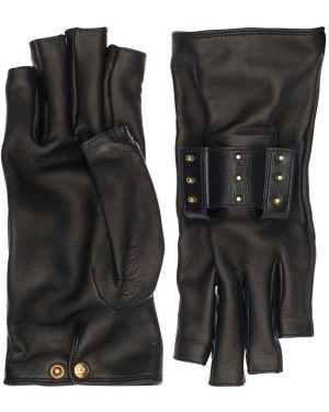 Кожаные перчатки из натуральной кожи Gucci
