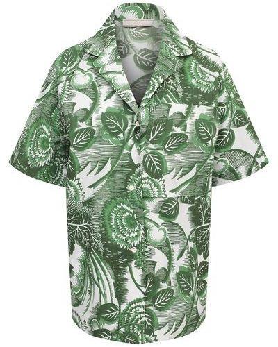 Хлопковая блузка Tak.ori