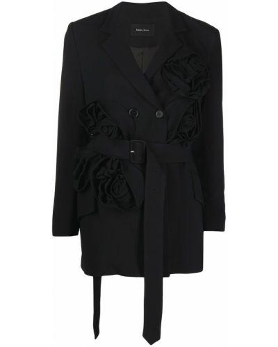 Черная куртка с карманами Simone Rocha