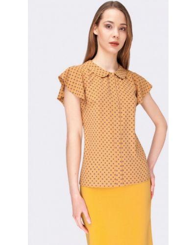 Бежевая блузка Cat Orange