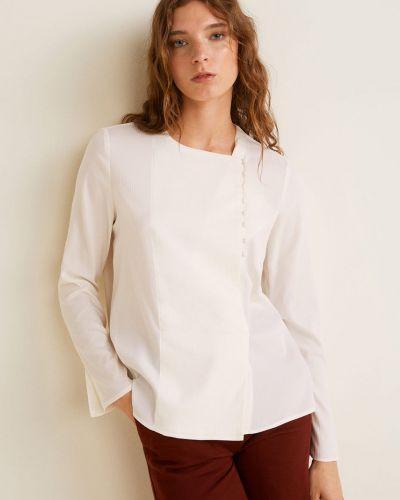 Блузка прямая на пуговицах Mango