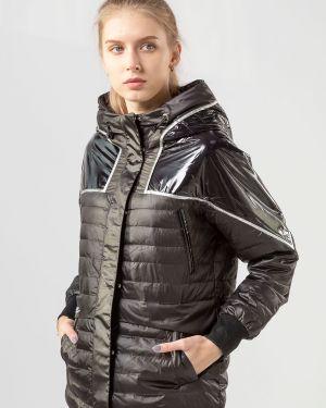С рукавами черная куртка Meajiateer