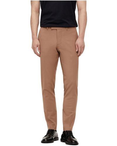 Klasyczne spodnie - brązowe J.lindeberg