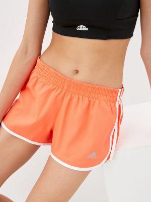Спортивные шорты - оранжевые Adidas