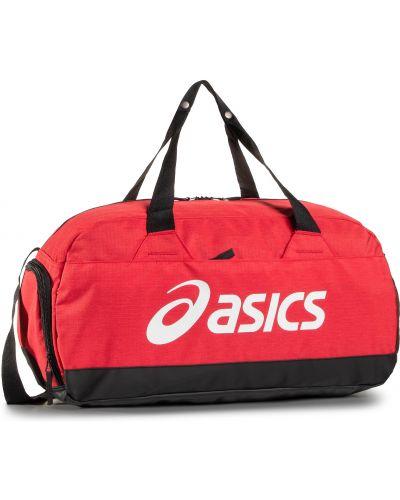 Klasyczny czerwony sport torba Asics