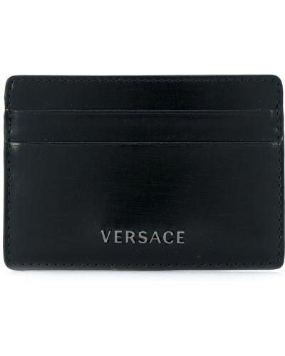 Визитница черная Versace