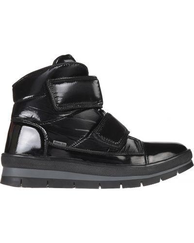 Кожаные ботинки - черные Jog Dog
